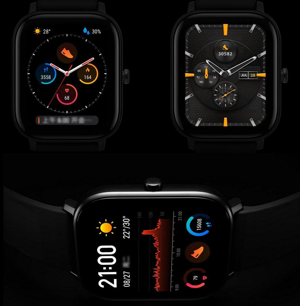 Розумний годинник Xiaomi Amazfit GTS циферблат