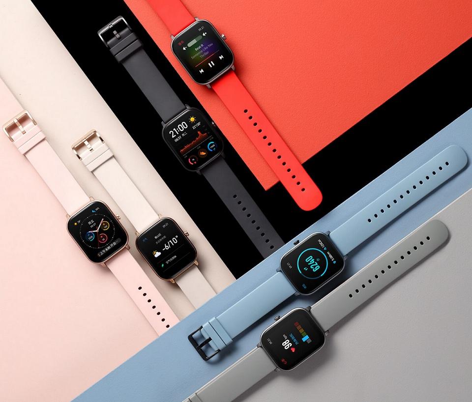 Розумний годинник Xiaomi Amazfit GTS різні забарвлення