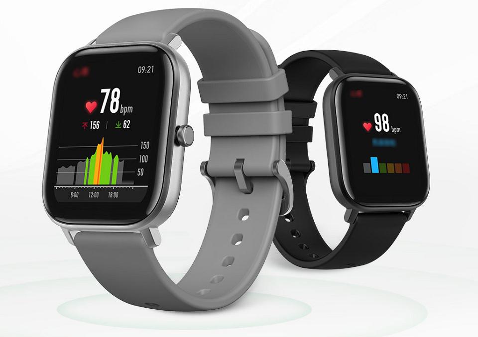 Розумний годинник Xiaomi Amazfit GTS 2 види годинника крупним планом