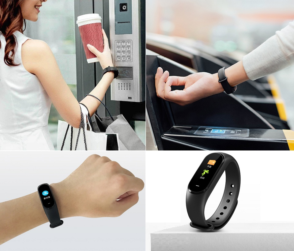 Фітнес браслет Xiaomi Hey Plus Band NFC Black NFC