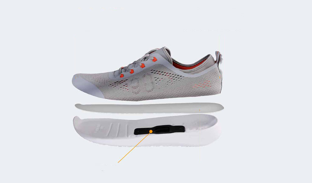 Xiaomi 90 points Smart shoes структура