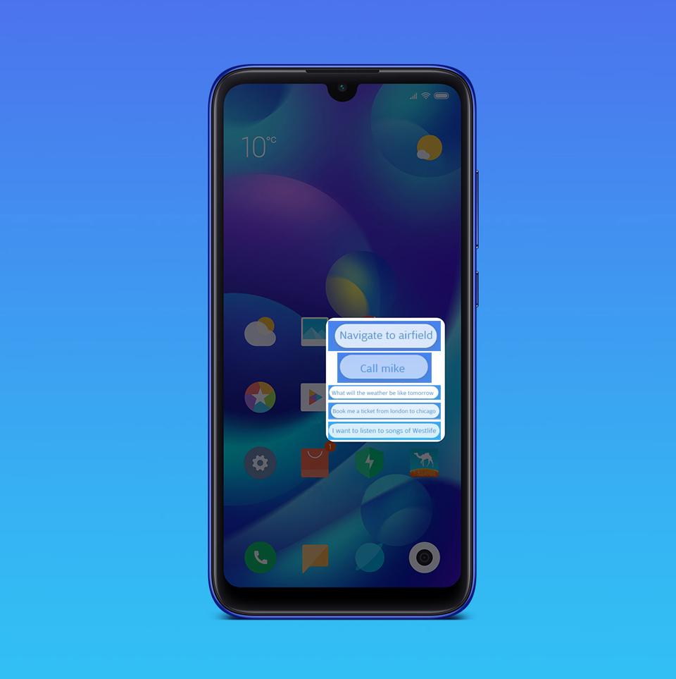 Смартфон Xiaomi Mi Play голосове управління