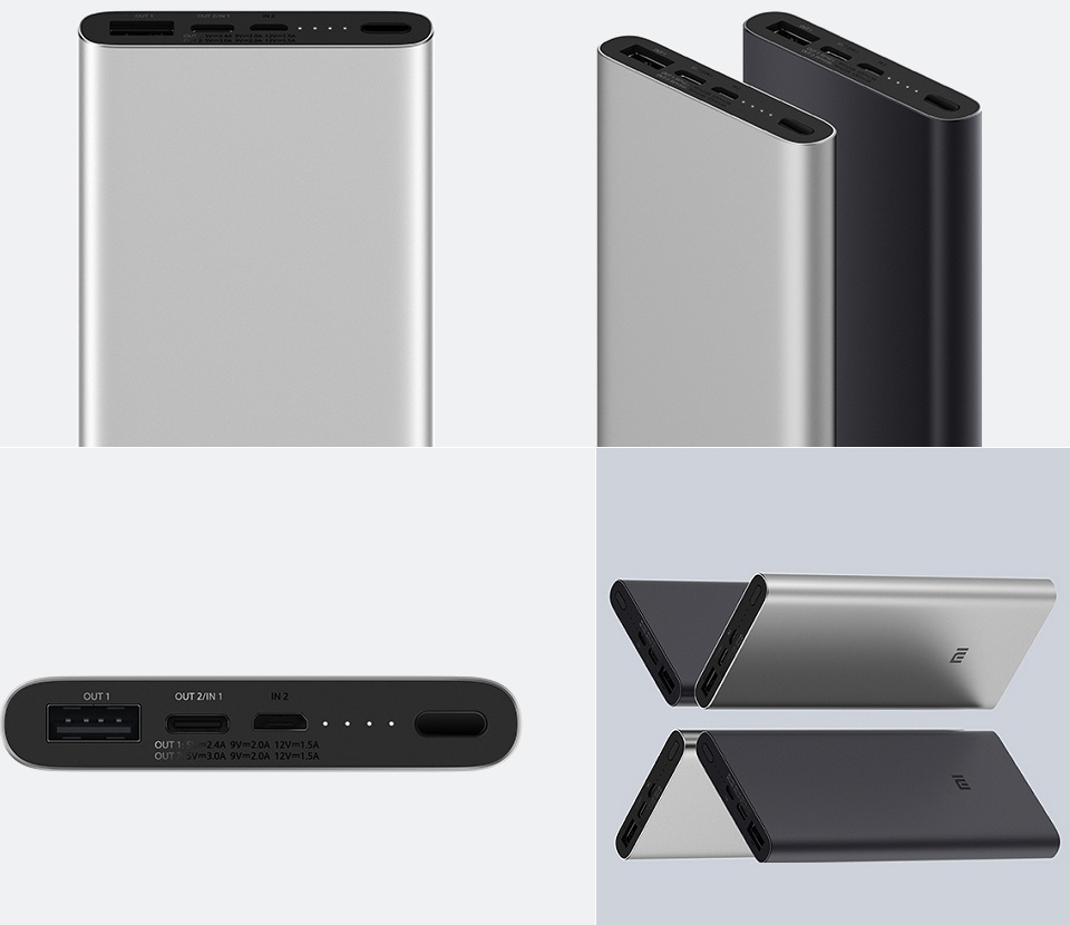 Універсальна батарея Xiaomi Mi Power bank 3 10000mAh корпус