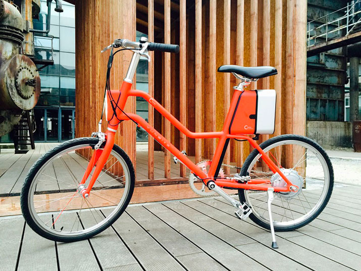 YunBike C1 smart electric bike