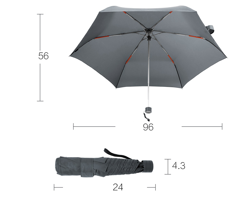 xiaomi-pinlo-umbrella-pocket-light-gray