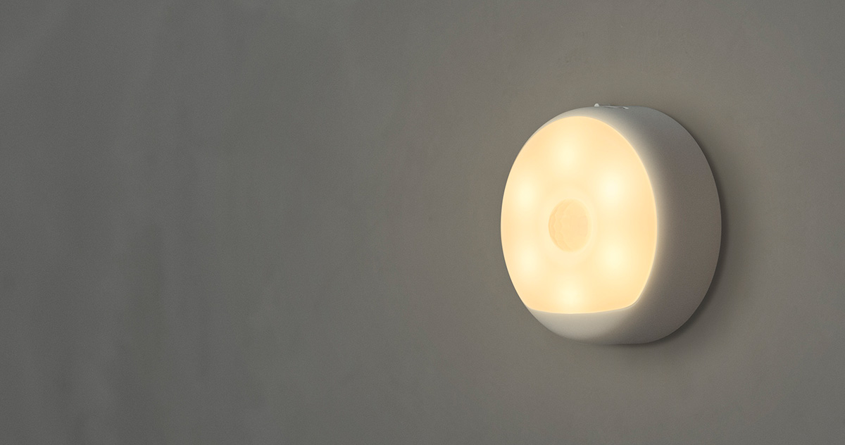 Yeelight Motion Sensor Nightlight лампа акция