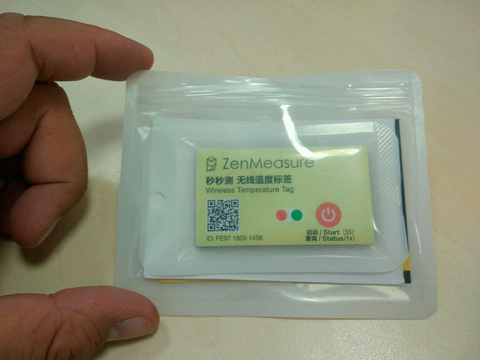 ZenMeasure Wireless Temperature Tag чохол пакет